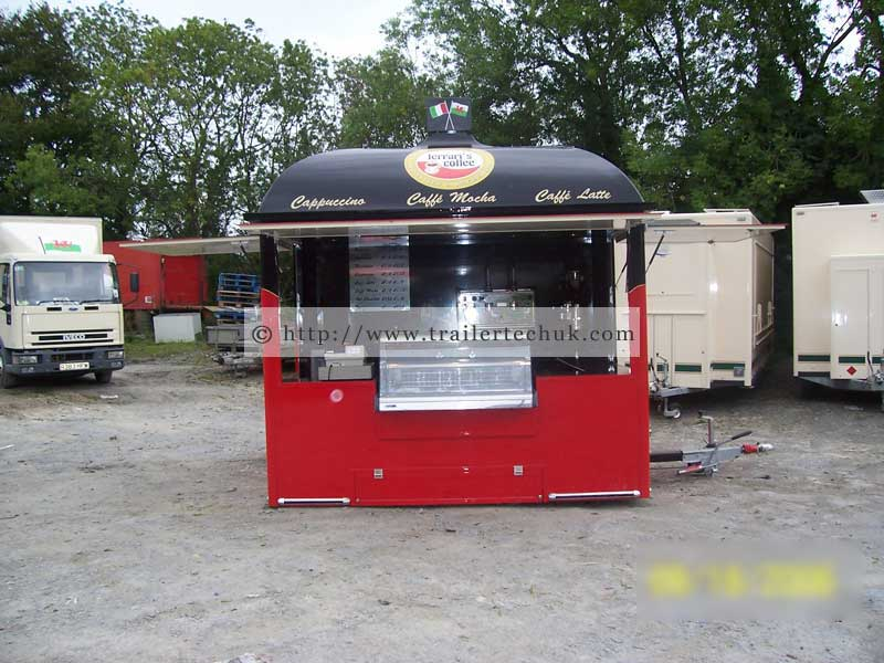 Coffee Bar Catering Trailer